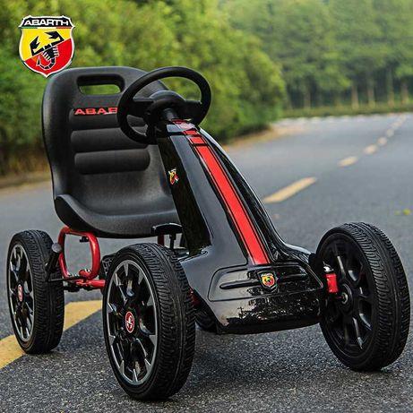 Kart Abarth Masinuta cu pedale Copii Garantie Licenta Fiat Germania