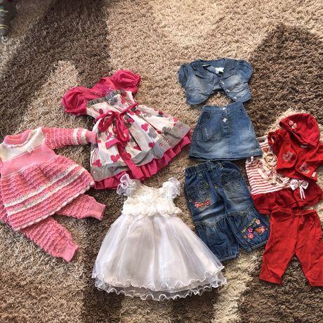 Пакет вещей на девочку от 1года до 2 лет