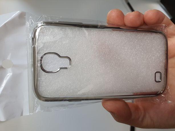 Husa protectie Samsung Galaxy S4, folie ecran cadou