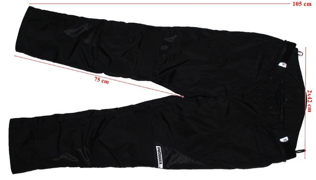 Pantaloni moto Probiker captuseala protectii dama 22(L-XL) STARE FB
