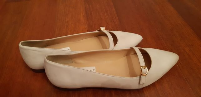 Продаю новые кожаные итальянские туфли-балетки