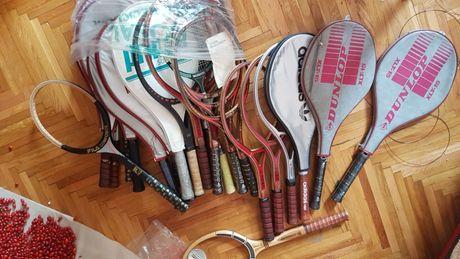 Rachete tenis lemn : Donnay ,adidas ,Le Coq sportif Yannick Noah ..etc