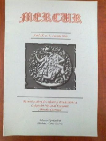Mercur - Revista scolara de cultura si divertisment