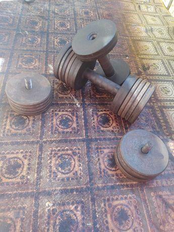Гантели от 8 до 14 кг