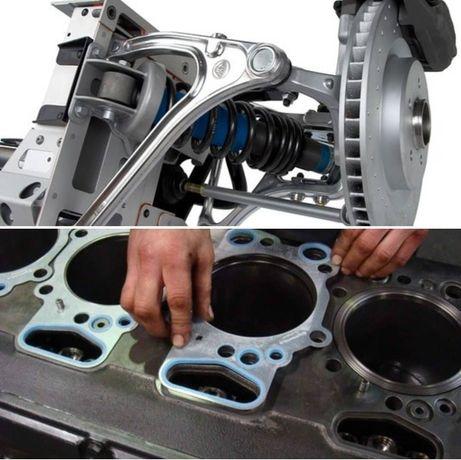 Ремонт двигателей, ходовой, МКПП, стартеров, генераторов с гарантией