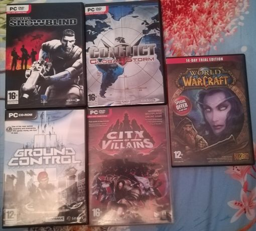 Set de 5 jocuri PC