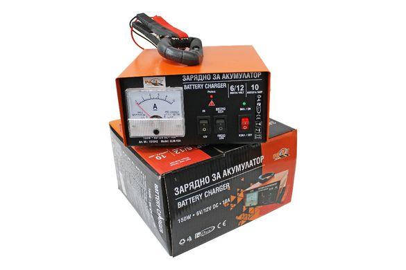 Зарядно Устройство 10A за Акумулатор 6V 12V Бързо Зареждане до 120A