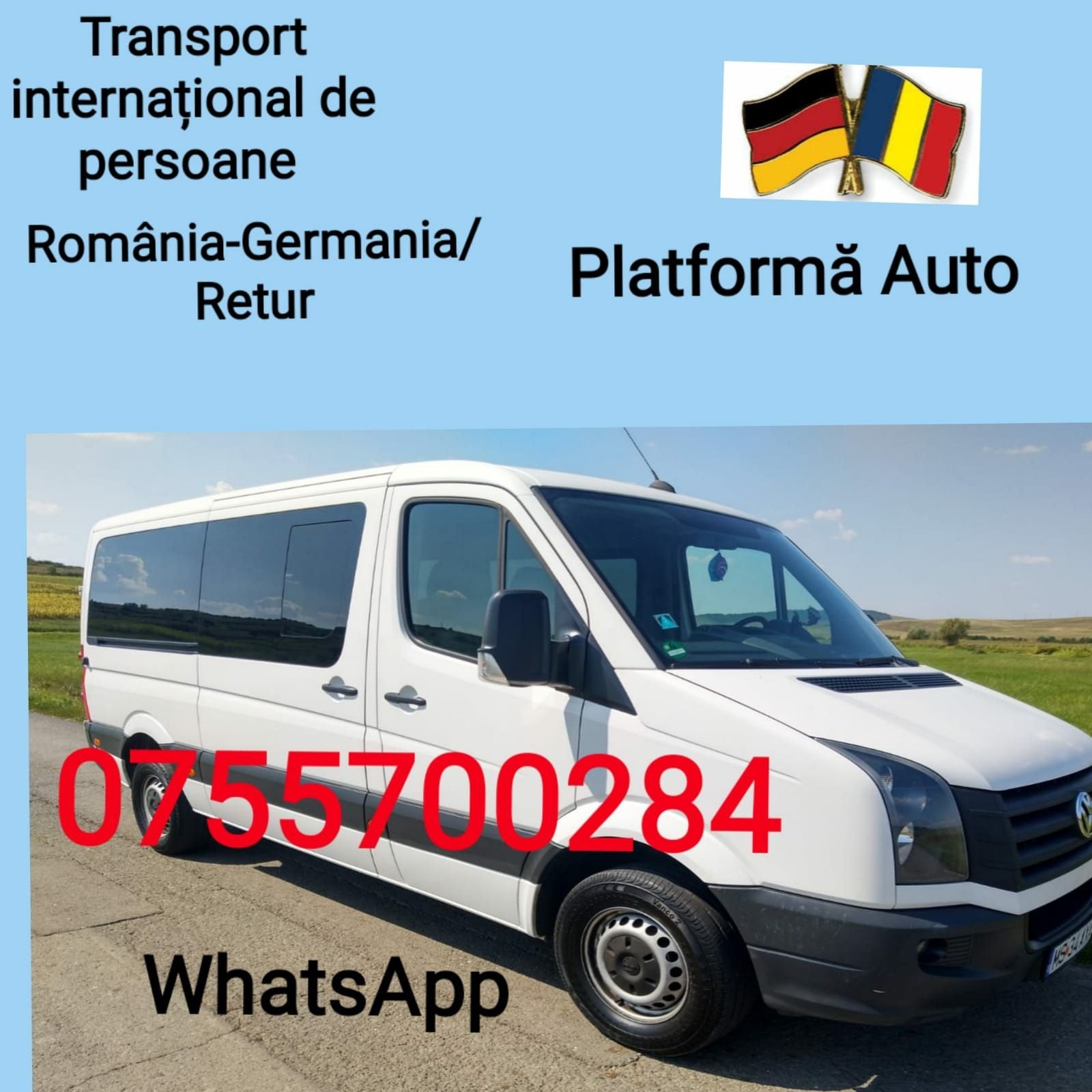 Transport persoane.Romania-Germania
