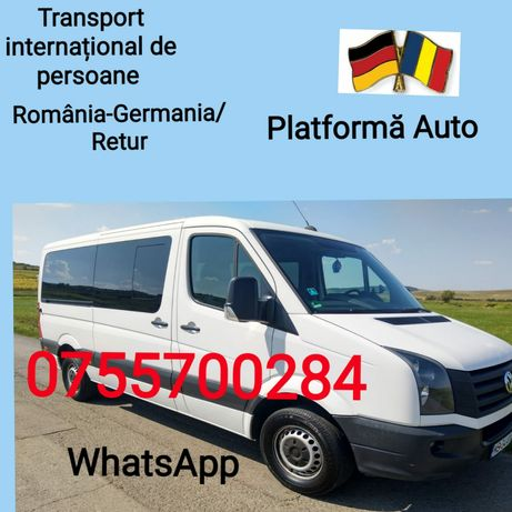 Transport persoane.Romania-Germania