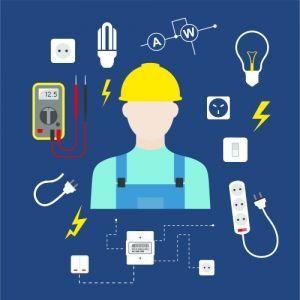 Электрик все виды работ по электрике.