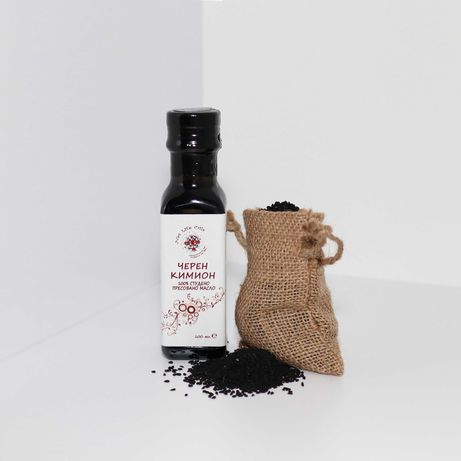 Студено пресовано натурално масло от черен кимион - 100 мл.