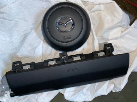 Mazda III 3 cx7 6 cx-3 mx5 mx-5 kit airbag plansa bord volan pasager