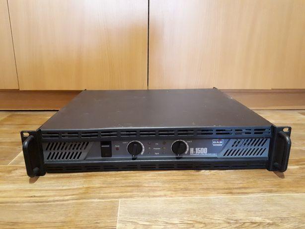 Фирменный усилитель D.A.S. Audio H-1500 (Испания)
