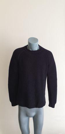 G - Star Suzaki Knit Cotton Mens Size S ОРИГИНАЛ! Мъжки Пуловер Блуза!
