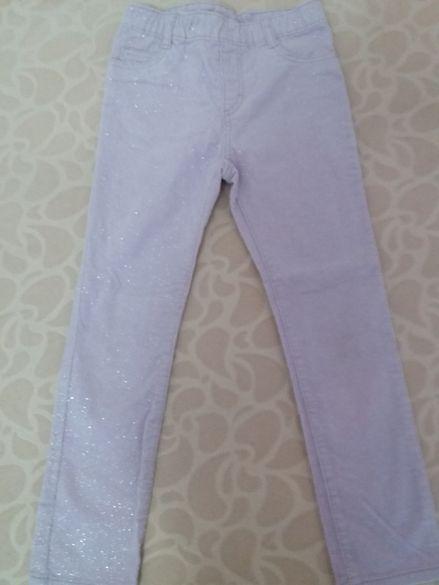 Панталон с брокат 5-6 год.H&M