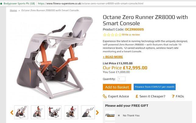 Octane Zero Runner zr8000
