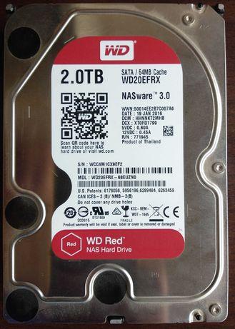 "Hard disk HDD Western Digital WD Red 3.5"" 2TB WD20EFRX 5400rpm CMR NAS"