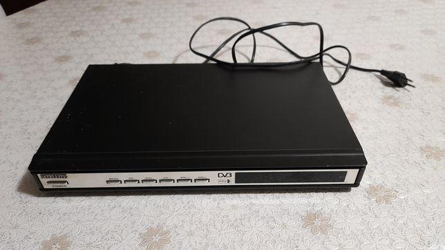 Ресивер для парабаричеси и тарелка антенны,DV3 в рабочем состоянии зво