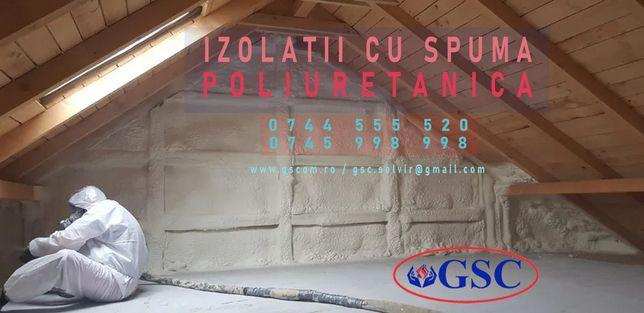 izolatie spuma poliuretanica pentru case, la cel mai avantajos pret