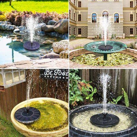 Градински соларен фонтан