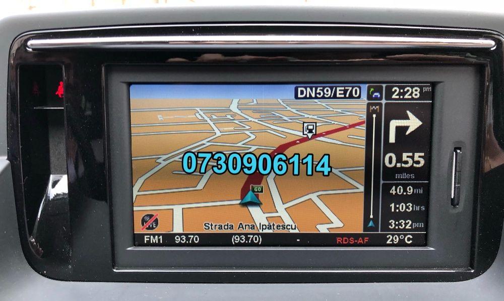 Renault Carminat R-LINK Tomtom Live Harti GPS 2020 Clio Megane Scenic Timisoara - imagine 1