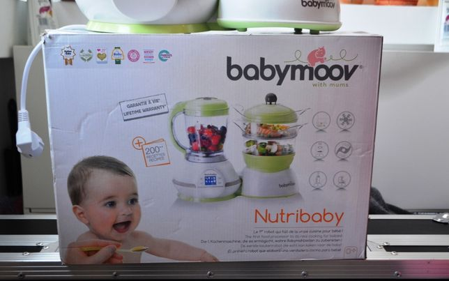 Babymoov - Robot Multifunctional 5 in 1 Nutribaby Cream