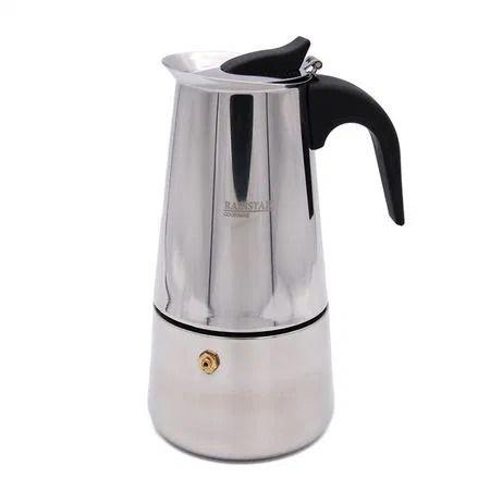 Espressor pentru aragaz Rainstahl inox de inalta calitate, 450 ml, 9 c