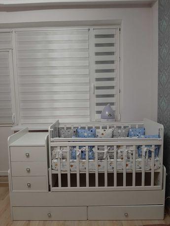 Кровать детская, кроватка  3 в 1  cостояние отличное