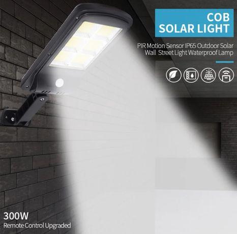 Lampa solara 4500 lumeni cu telecomanda