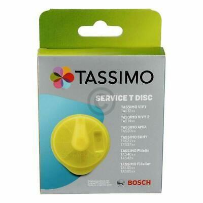 T-диск с Tassimo Service Disc, жълт,оранжев