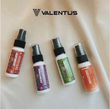 Спреи Alivemax & Valentus