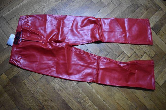 Pantaloni dama piele eco Freeman Porter