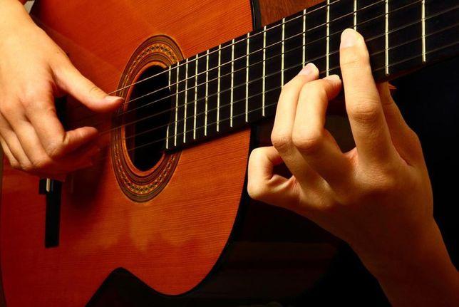Обучаю игре на классической и эл. гитаре