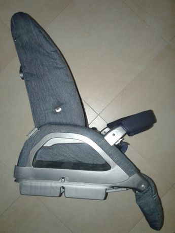 Baza carucior sport Inglesina Blue Jeans, spatar reglabil, gri