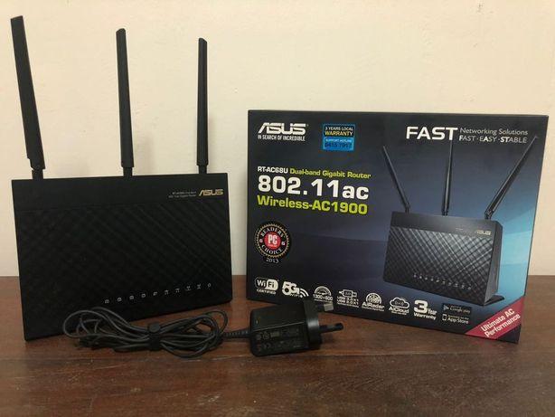 Router Asus AC68U - dual band 2.4 - 5 Ghz / ca nou