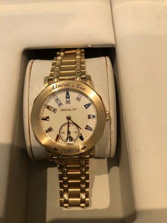 Золотые часы CORUM (Швейцария)
