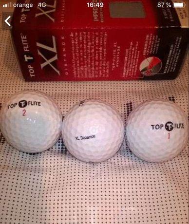 3 mingi de golf noi + 3 cadou