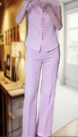 Продам женский брючный костюм-двойка 42р. Южн.Корея,  новый