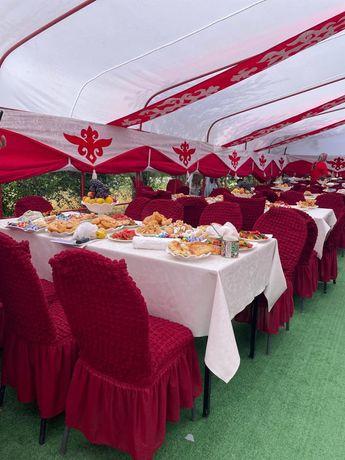 Аренда палатки,посуды,казан_ошак!