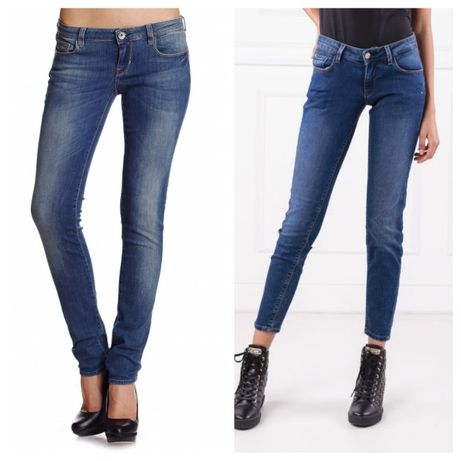Guess Starlet skinny jeans & Guess Beverly slim fit