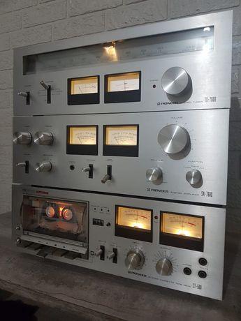Продам усилитель, кассетную деку, тюнер Pioneer
