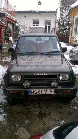 Daihatsu Feroza 1600 ccb - volan pe dreapta , benzina + gaz