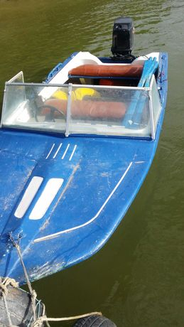 Vand Barca cu motor de 40cp