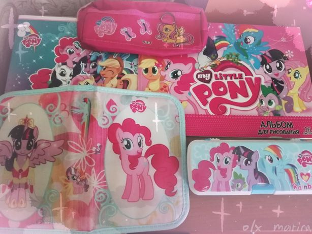 Канцелярия с пони / My Little Pony