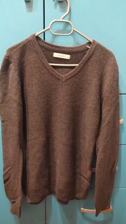 Сив пуловер Reserved 146