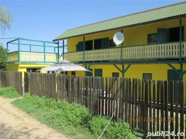 Delta dunarii casa de pescuit agrement pensiune Balteni de Jos