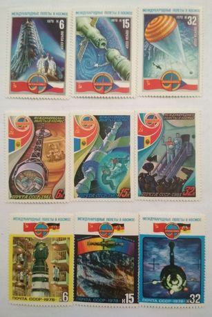 Почтовые марки СССР в идеальном коллекционном состоянии.