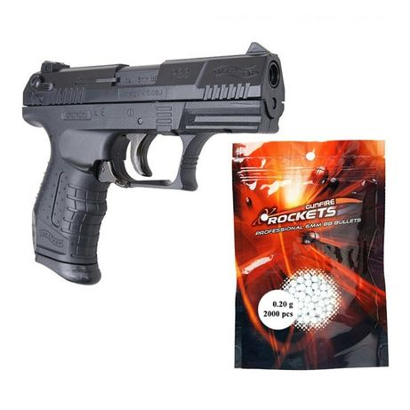 ~ Pistol IEFTIN si PUTERNIC !! *1.2 J* (Walther) Airsoft + Munitie Arc