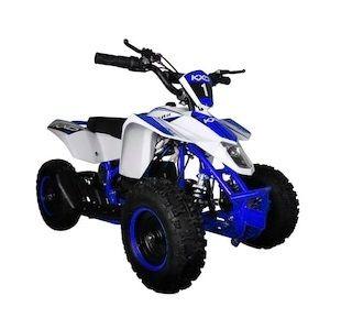 ATV electric pentru copii KXD Maddox M1 800W 36V #Albastru