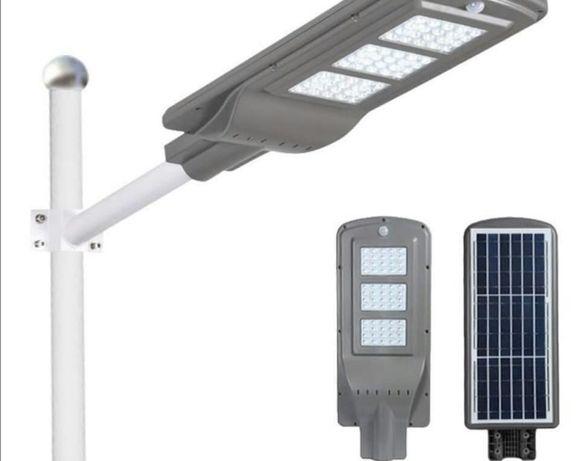 Продам новые уличные прожекторы на столб на солнечной батареи
